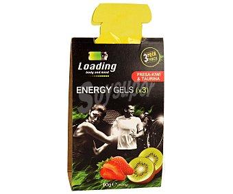 LOADING Gel energético de fresa y kiwi con taurina 90 gramos