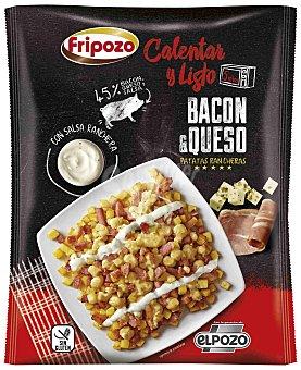 Fripozo Patatas fritas con salsa ranchera, bacon y queso, elaboradas sin gluten 330 g
