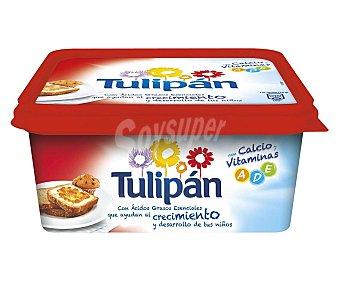 Tulipán Tarrina de margarina 3/4 vegetal con calcio, leche y vitaminas a,d,e 1 kg