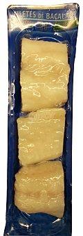 MAREDEUS Bacalao congelado punto de sal filetes Paquete 400 g