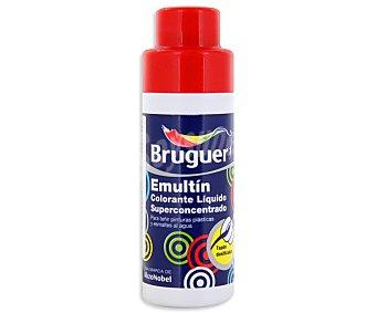 BRUGUER Colorante líquido superconcentrado Emultin, de color rojo bermellón 0,5 litros