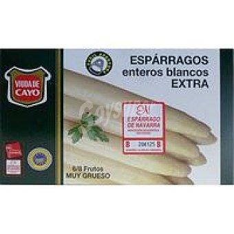 VIUDA DE CAYO Espárrago D.O. 6/8 frutos 220 gr