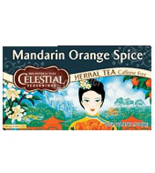 Celestial Té mandarina con especias  Bolsitas 20 ud
