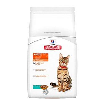 Hill's Science Plan Pienso especial para gatos adultos 1-6 años con atún para cuidado óptimo Bolsa 2 kg