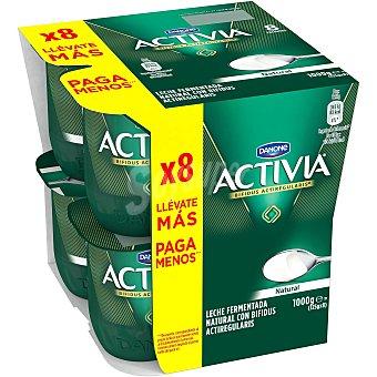 Activia Danone Activia natural 8 unidades de 125 g
