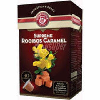 Pompadour Rooibos con caramelo Caja 10 monodosis