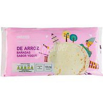 Eroski Tortitas de arroz-yogur Paquete de 130,40 g