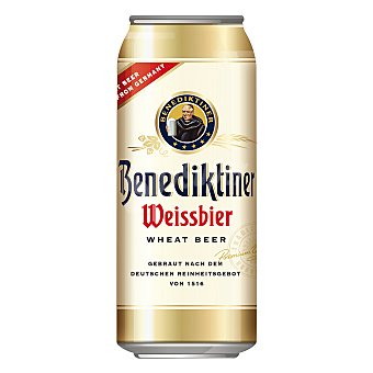 BENEDIKTINER Cerveza de trigo Weissbier 500 ml
