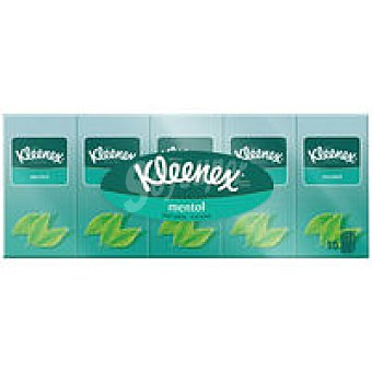 Kleenex Pañuelos mentol
