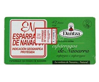 Dantza Espárragos D.O. Navarra 5/7 piezas 220 Gramos
