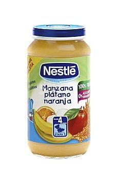 Naturnes Nestlé Tarrito Nestlé naturnes Manzana, Plátano y Naranja 250 g