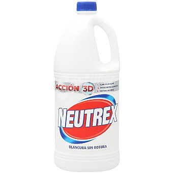 Neutrex Lejía original ropa blanca botella 2 litros