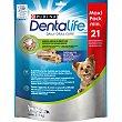 Dentalife snack dental para perros de razas mini 21 unidades envase 69 G 2-7 kg Purina
