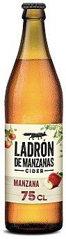 Ladrón de Manzanas Sidra de manzana tipo Cider Botella 75 cl