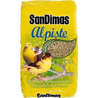 SAN DIMAS ALPISTE Semillas seleccionadas para pájaros de canto paquete 1 kg Paquete 1 kg