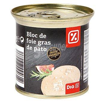 DIA DELICIOUS Bloc de foie gras de pato lata 200 gr Lata 200 gr