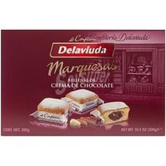 Delaviuda Marquesas con chocolate Caja 300 g