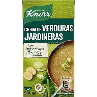 Knorr Puré de verduras jardineras rústica Brik 500 ml