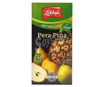 Libby's Néctar de pera y piña light con stevia envase 1 l Envase 1 l