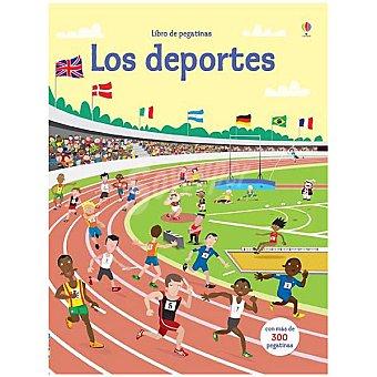 El libro de pegatinas: Los deportes