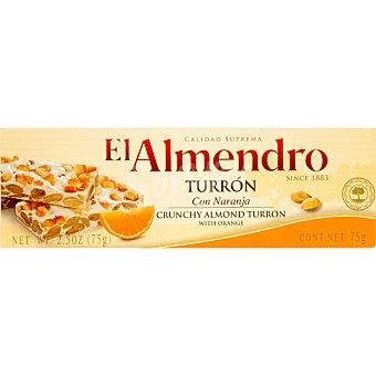 EL ALMENDRO turrón duro con naranja Calidad Suprema tableta 150 g