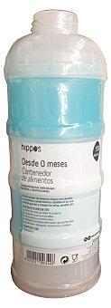 HIPPOS Contenedor alimentos bebe color azul 1 unidad