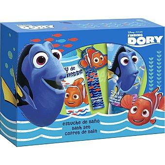 Lorenay Buscando a Dory set de baño con eau de toilette infantil + gel de baño & champú tubo 150 ml + bálsamo labial & llavero spray 100 ml