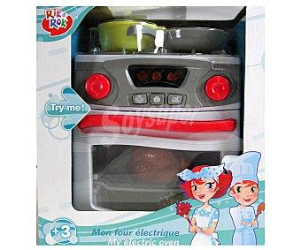 Rik&Rok Auchan Mi primer horno con luces y sonidos, incluye 4 accesorios 1 unidad
