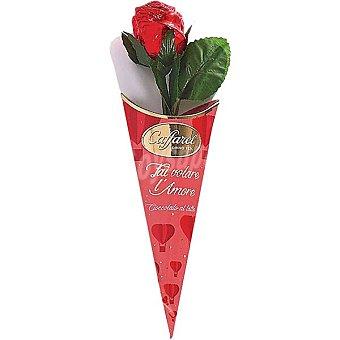 Caffarel Rosa pequeña de chocolate con leche unidad 20 g unidad 20 g