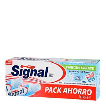 Signal Dentífrico Utraprotectora Pack 2x100 ml