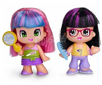 PIN Y PON Figura peinado de colores, incluye 1 figura, peine y purpurina 1 unidad