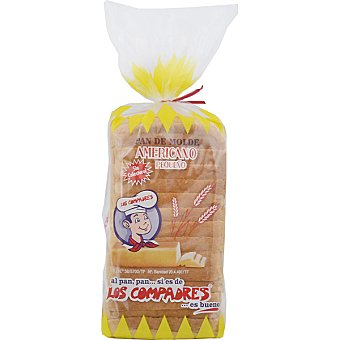 Los Compadres Pan de molde americano pequeño Bolsa 315 g