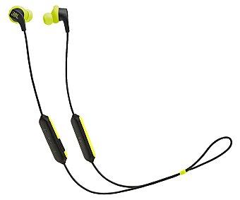 JBL Auriculares deportivos Bluetooth tipo cuello color negro y lima Endurance Run