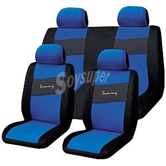 TROPHY Viena Azul Juego de fundas universales para automóvil