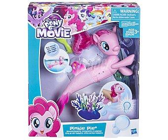 MY LITTLE PONY Pinkie Pie Pony de mar Pinkie Pie Pony de mar nadadora, incluye accesorios, PONY.