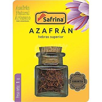 SAFRINA Azafrán en hebras Envase 1 g