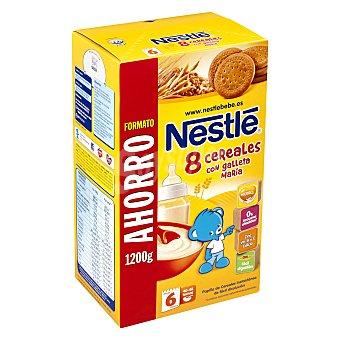 Nestlé Papilla 8 cereales con miel y galleta María 1200 g