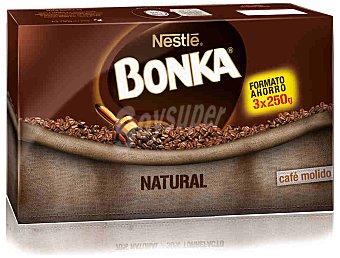 Bonka Nestlé Café Natural Triplo Bonka 750 g
