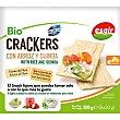 Bio crackers con arroz y quinoa ecológicos y sin gluten Envase 120 g Esgir