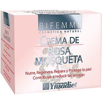 BIFEMME Crema de rosa mosqueta nutre regenera repara y protege la piel envase 50 ml Envase 50 ml