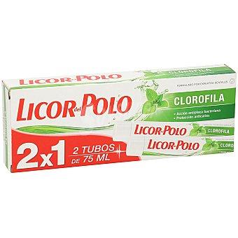 Licor del Polo Pasta dental clorofila tubo 2x1 75ml