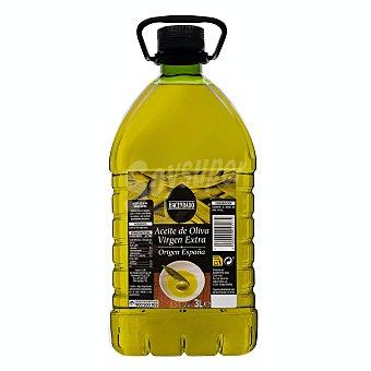Hacendado Aceite de oliva virgen extra tapón negro Garrafa de 3 litros