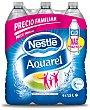 Agua mineral Pack 6x1,5 litros Aquarel Nestlé