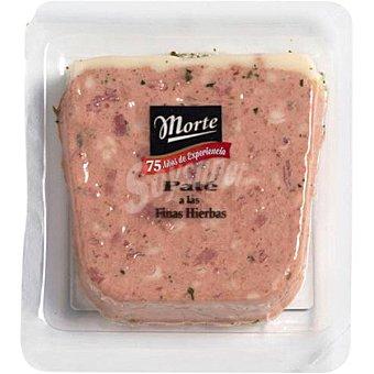 Morte Paté de higado de cerdo a las finas hierbas envase 100 g envase 100 g