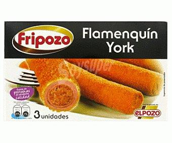 Fripozo Flamenquín de york estuche 285 g 3 unidades
