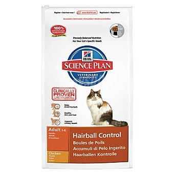 HILL'S SCIENCE PLAN Alimento para gatos adultos con pollo para el control de las bolas de pelo Bolsa 1,5 kg