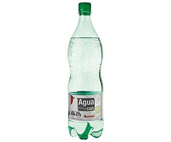 Auchan Agua mineral con gas Botella de 1,25 litros