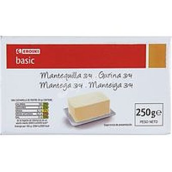 Eroski Basic Mantequilla 250 g