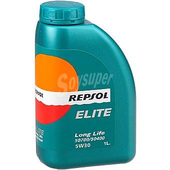 REPSOL Elite Aceite de motor long life 50700/50400 5W30 bidón 1 l