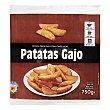 Patata prefrita congelada gajo Paquete 750 g